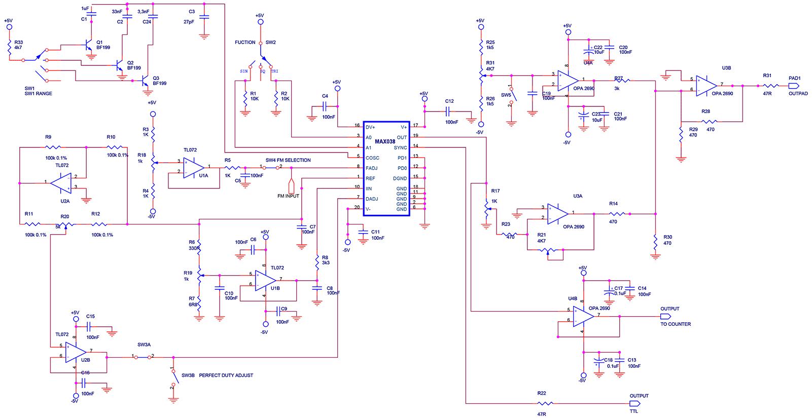 Генераторы сигналов на микросхемах фото 874