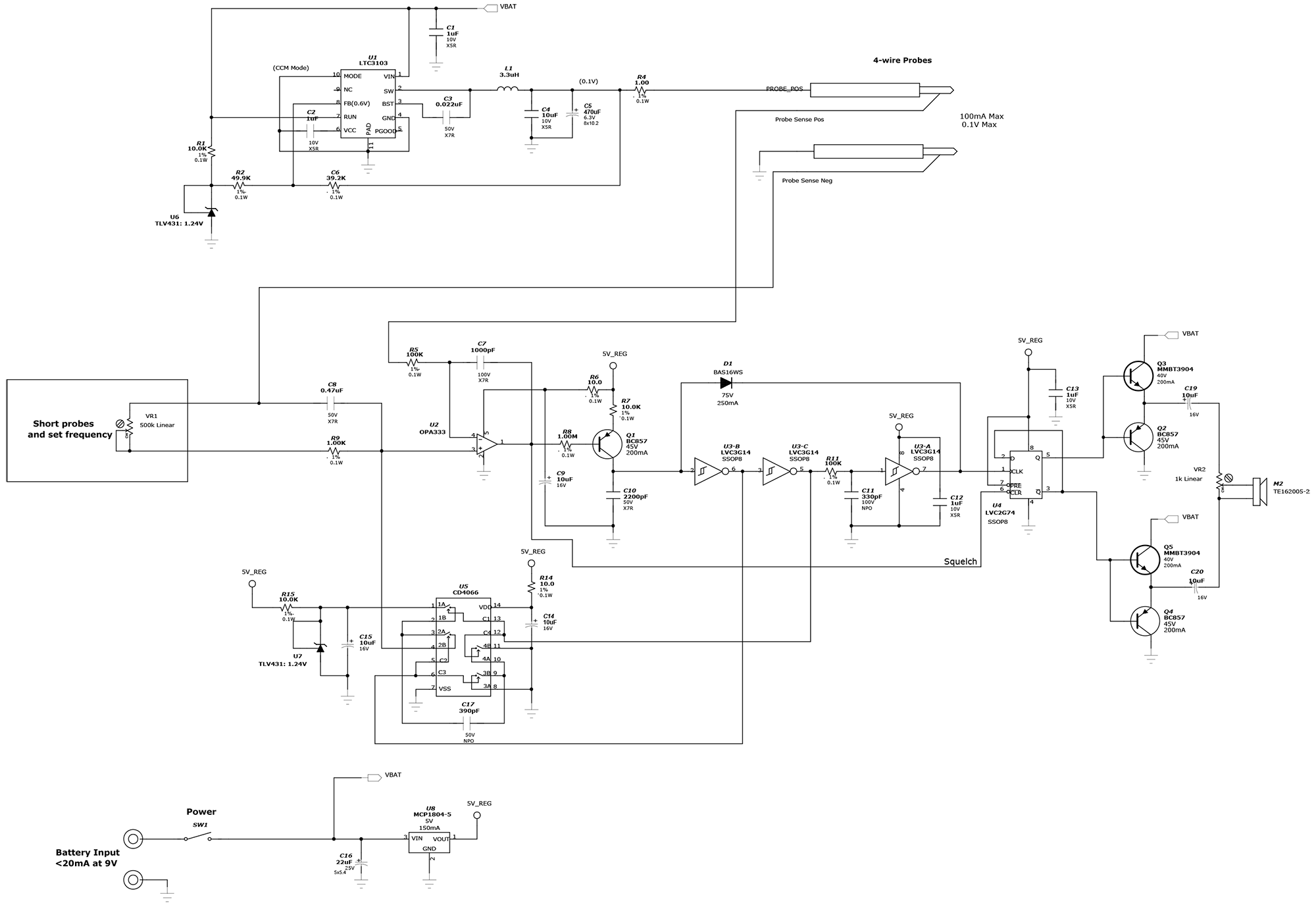 Схема dc-dc регулятора