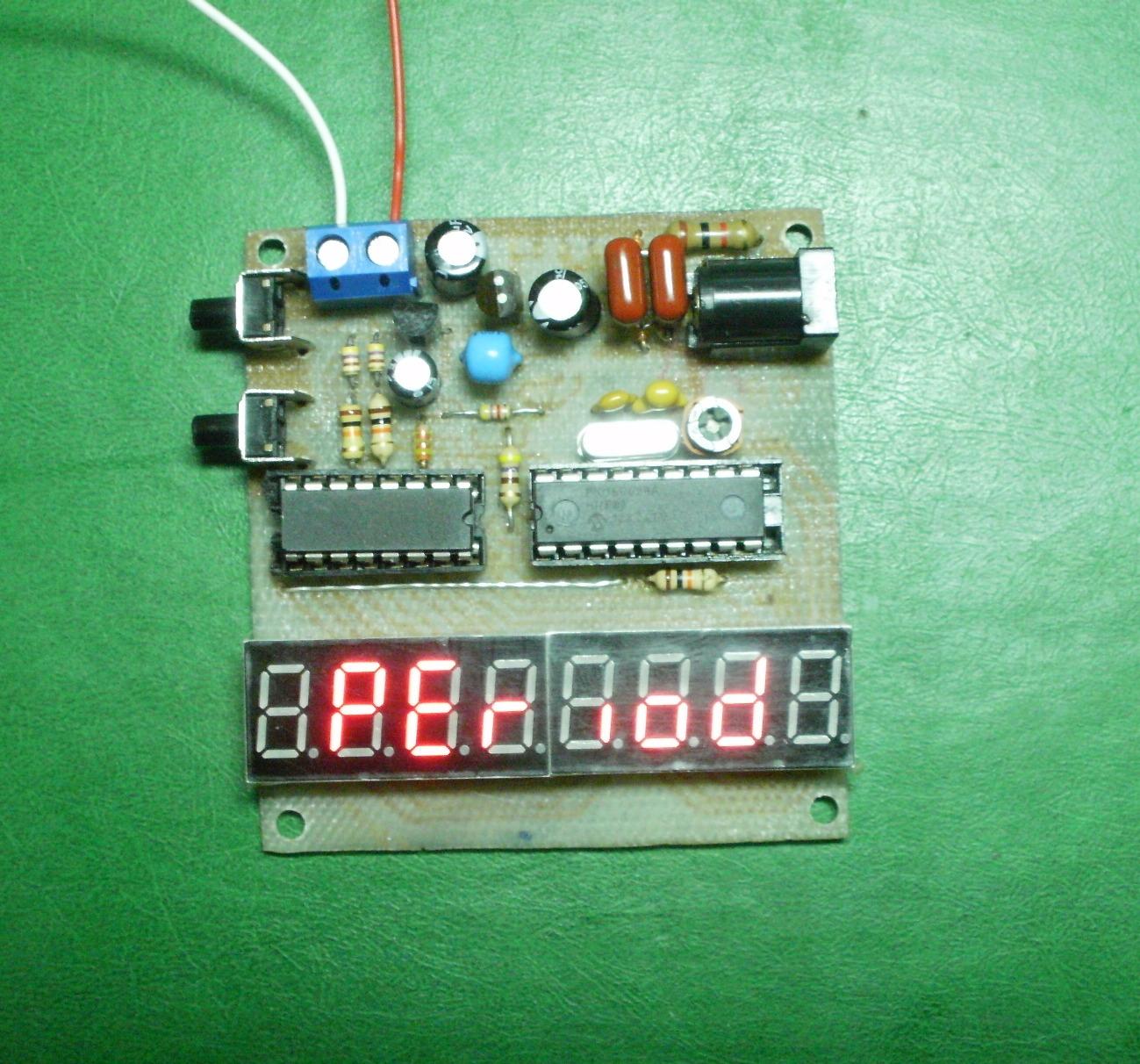 функцианальная схема частотомера