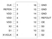 Распиновка ICS601-01