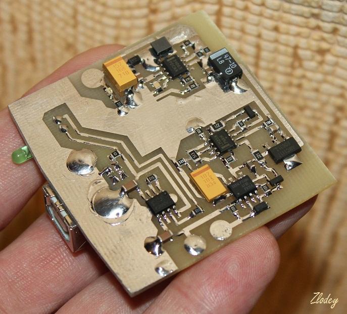 Зарядка на микроконтроллере схема фото 818