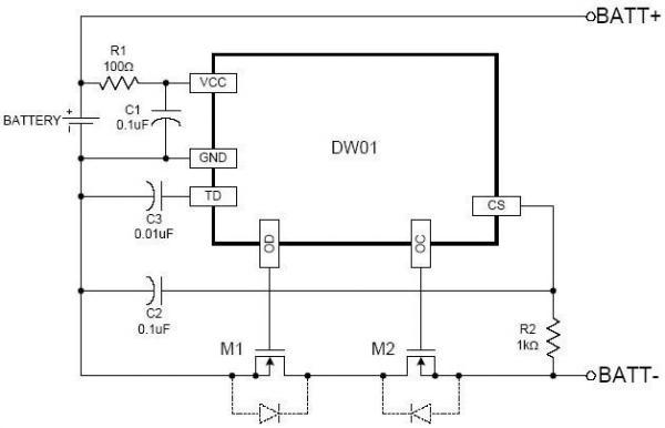 Принципиальная схема контроллера