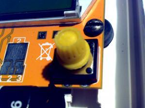 Колпачок на кнопке
