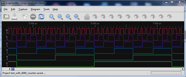 Logic Analyzer Client