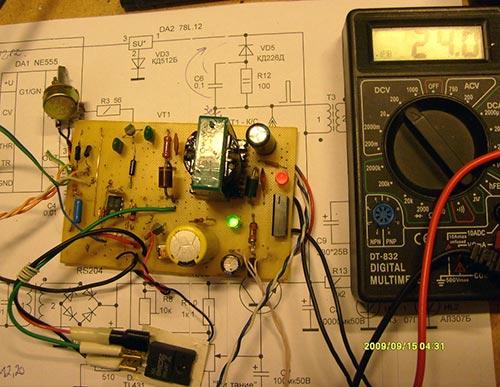 Станция диагностики мощных транзисторов
