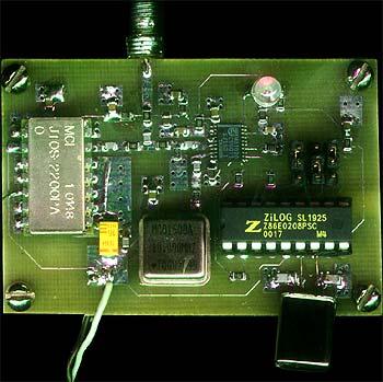 Структурная схема спроектированного синтезатора показана на рис. 1, внешний вид - на рис. 2. Как видно их схемы.