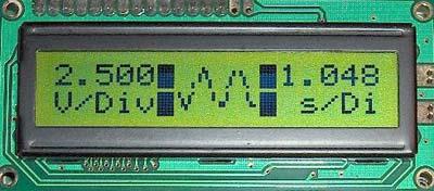 Осциллограф схема lcd
