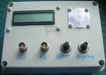 Внешний вид DDS-генератора
