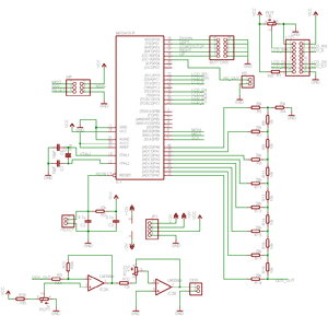 Принципиальная схема DDS-генератора