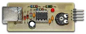 Также, схема данного USB-осциллографа может использоваться как основа...  ПО для микроконтроллера Tiny45 написано на...
