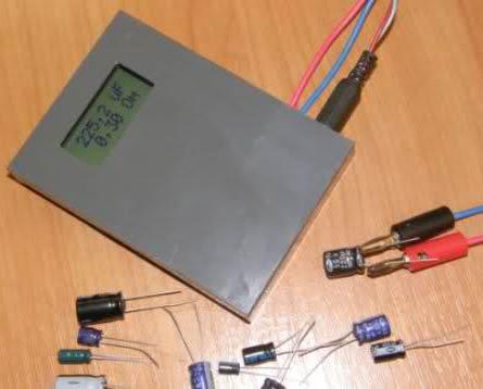 Фото собранного измерителя
