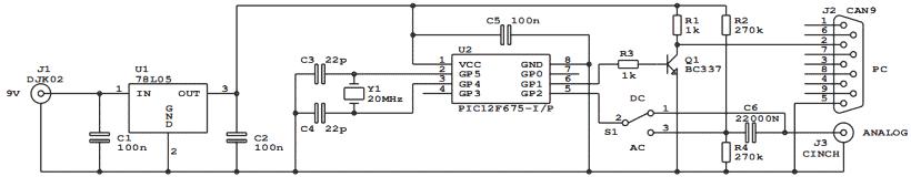 Основа схемы, микроконтроллер