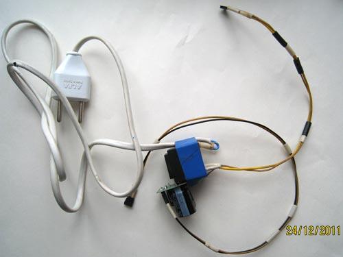 Блок питания.  Трансформатор физически один, с двумя независимыми обмотками.  Одна обслуживает сам БП, 2-я...