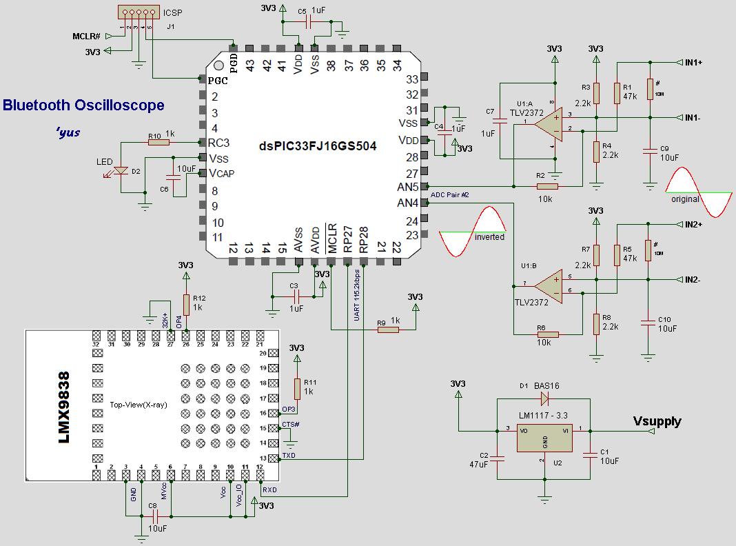 Схема юсб осциллографа