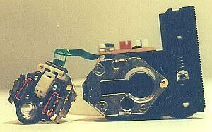 Вид лазера зі знятою лінзою