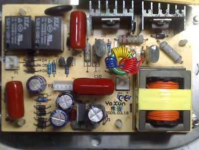 Верхний правый резистор