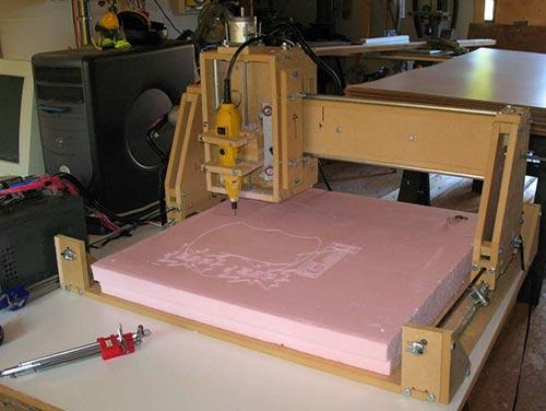 Станок своими руками из принтера