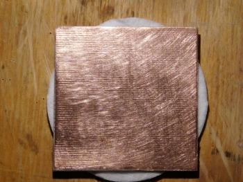 Ошкуренный текстолит (одна сторона)