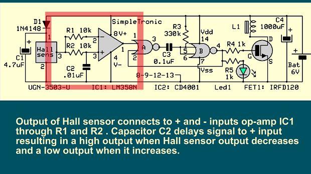 Схема включения датчика холла фото 134