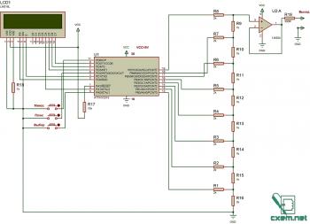 Генератор сигналов на мк attiny2313.  Генератор сигналов низкочастотный схемы скачать.