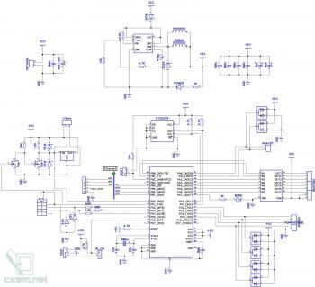 Схема (основная часть)