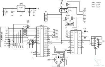 Схема COM-терминала