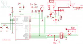 Схема программатора USBasp