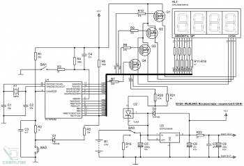Схема велокомпьютера