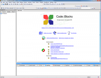 Среда разработки Code::Blocks