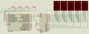Кнопки ATmega328 семисегментные индикаторы