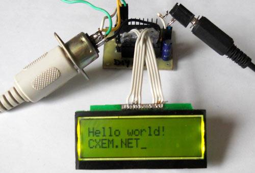 Подключение PS/2 к микроконтроллеру