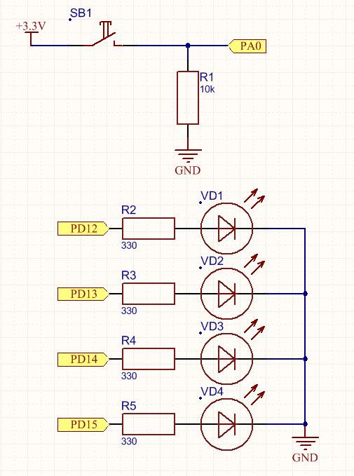 Резистор R1 номиналом 10кОм
