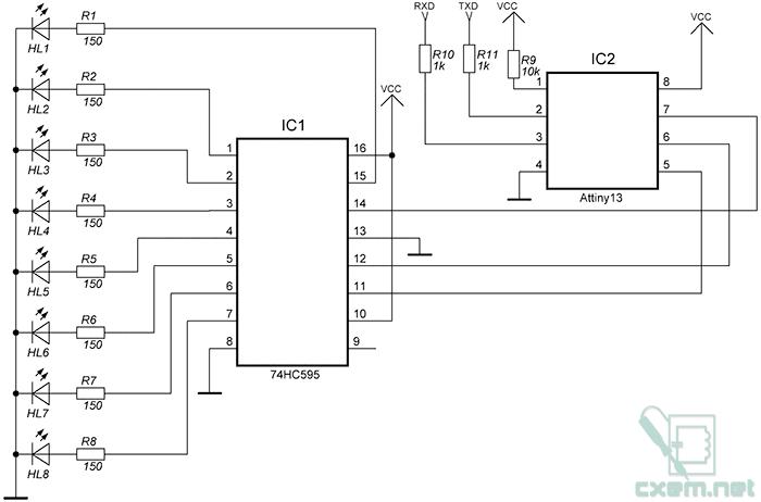 Схема контроллера