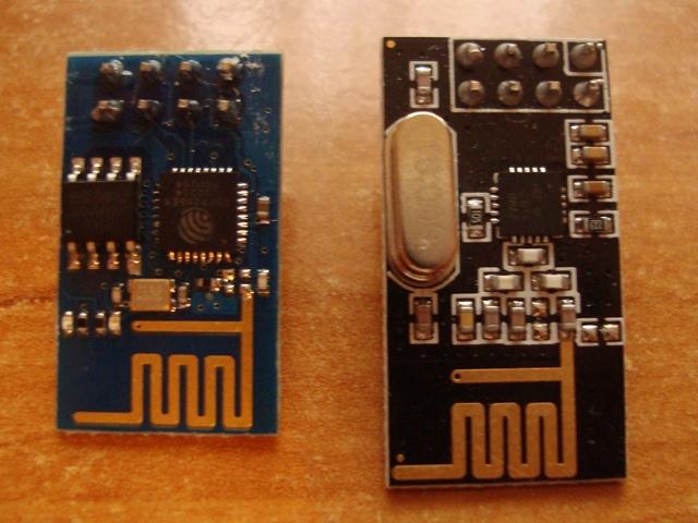 ESP8266 и NRF24L01