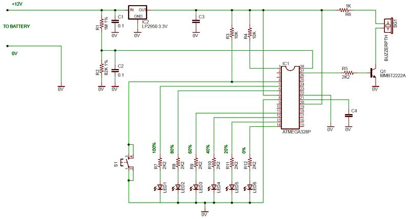 Схема индикатора
