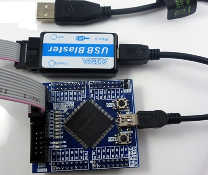 Демоплата Cyclone IV 4 FPGA Core Board
