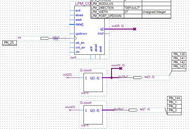 Схема модуля верхнего уровня