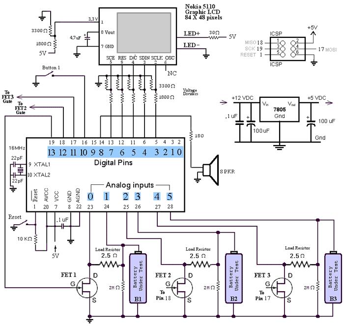 Схема на Arduino