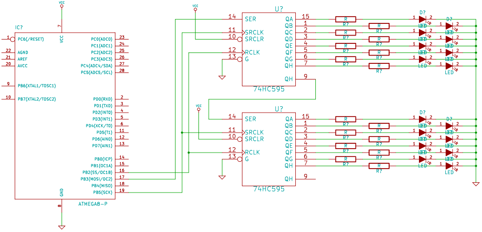 Programming ATMEGA32A-PU using an Arduino R3