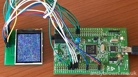 Подключаем дисплей STM32F4DISCOVERY