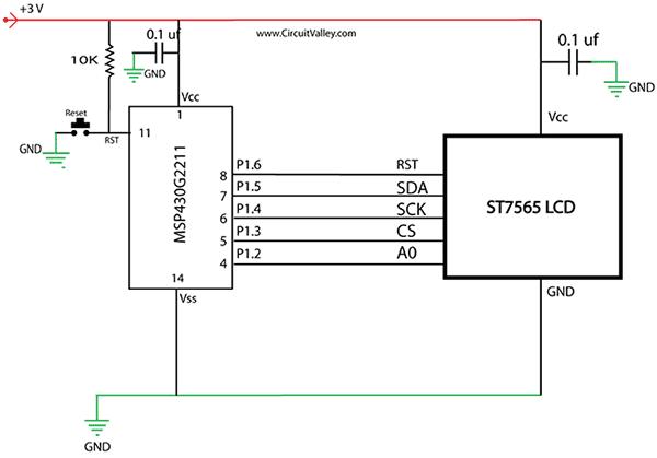 Графический ЖК-дисплей ST7565