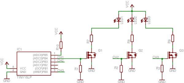 Управление мощными LED