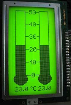 В основе схемы лежит микроконтроллер PIC16F88.  В... LM35. внимание, что...