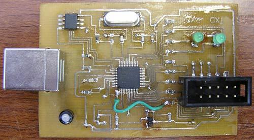 Простой внутрисхемный программатор LPC 56