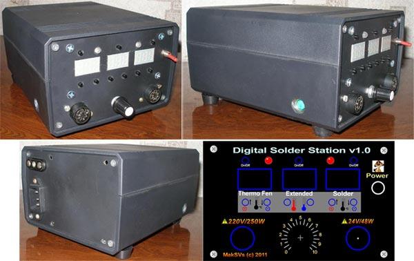 паяльную станцию DSS-1