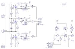 Схема силовой части паяльной станции