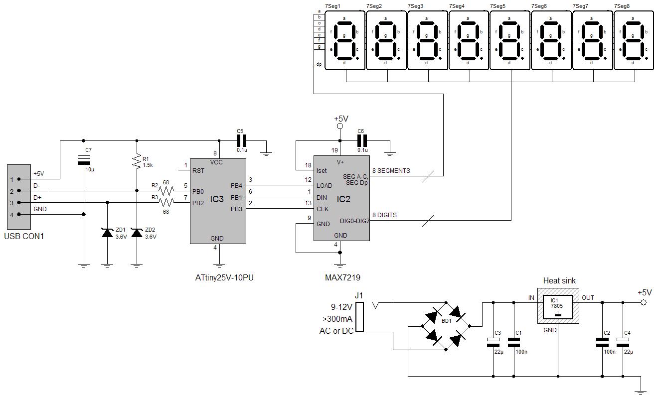 Схема avr программатора