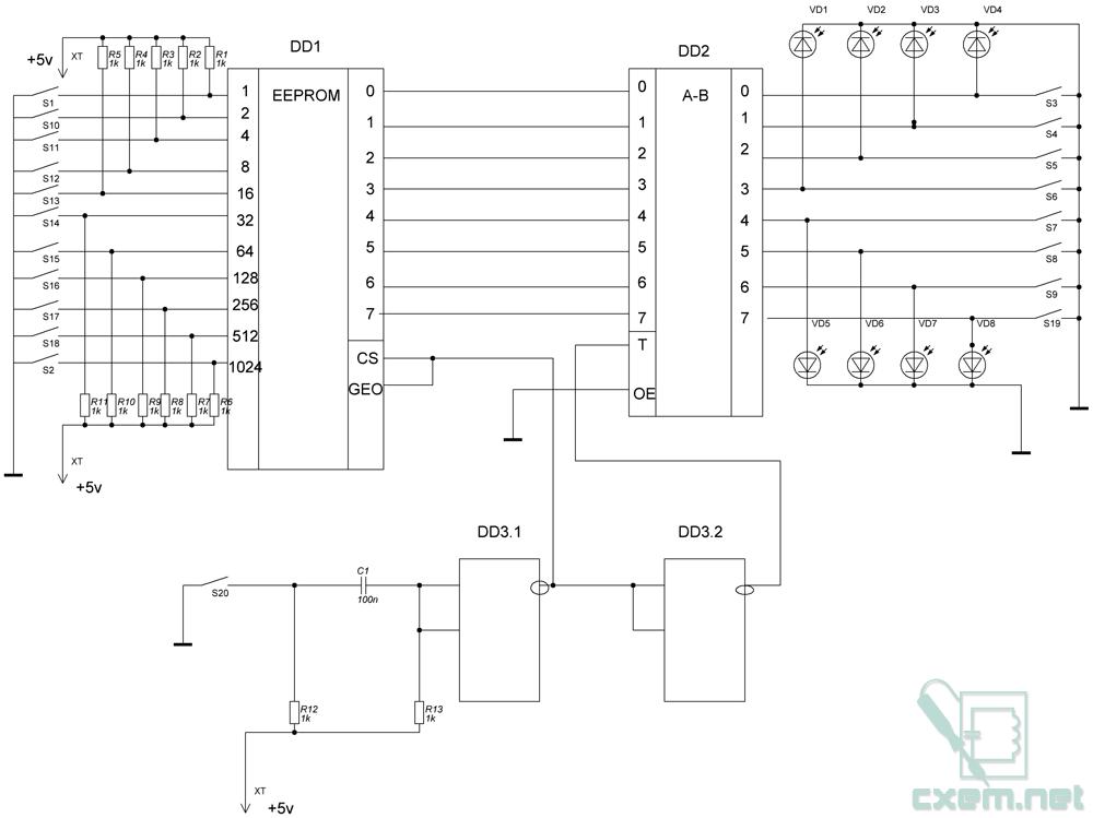 Схема программатора