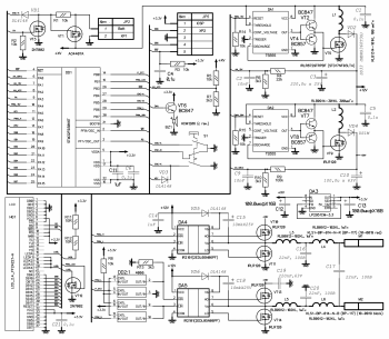 Принципиальная схема электронного массажера Амплипульс-ИК