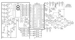 Схема мозгового электростимулятора
